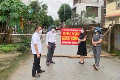 Phong toả diện hẹp khu vực 3 ca nhiễm Covid-19 ở Nghệ An