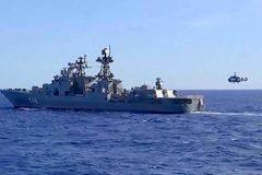 Nga - Trung tập trận chung ở Biển Nhật Bản