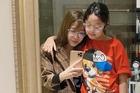 MC Diệp Chi khoe con gái cao lớn hơn mình
