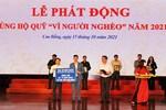"""Truyền thống """"lá lành đùm lá rách"""": Cao Bằng tiếp nhận hơn 13 tỷ đồng ủng hộ Quỹ 'Vì người nghèo' năm 2021"""