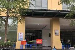 Cách ly tạm thời chung cư ở Hà Nội do có ca dương tính nCoV
