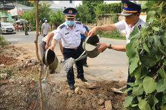 """Chương trình """"Cảnh sát biển với đồng bào dân tộc, tôn giáo"""" tại huyện Thanh Oai"""