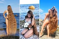 Cô gái không cắt tóc suốt 26 năm, được mệnh danh là 'công chúa tóc mây'