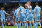 De Bruyne tỏa sáng, Man City phả hơi nóng vào gáy Liverpool