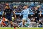 Man City 2-0 Burnley: De Bruyne nhân đôi cách biệt