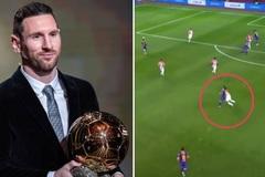 Messi không xứng đáng giành Quả bóng vàng vì chiếc thẻ đỏ