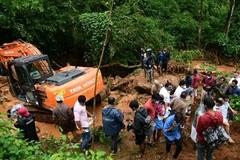 Sạt lở đất nghiêm trọng ở Ấn Độ, hàng chục người thiệt mạng