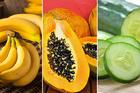 Làm đẹp da mặt bằng trái cây giá rẻ