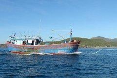 Quảng Ngãi tìm kiếm 4 ngư dân cùng tàu cá mất tích trên biển