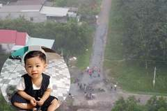 Dùng flycam tìm kiếm bé trai 2 tuổi mất tích ba ngày nay ở Bình Dương