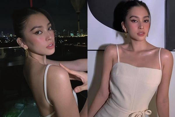 Sao Việt hôm nay 19/10: Hoa hậu Tiểu Vy đầy quyến rũ và gợi cảm