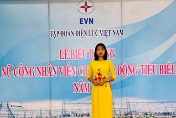 'Bóng hồng' tiêu biểu của Nhiệt điện Uông Bí