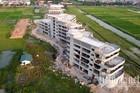 Chủ tịch Vĩnh Phúc chỉ đạo kiểm tra dự án xây không phép sát trụ sở phường