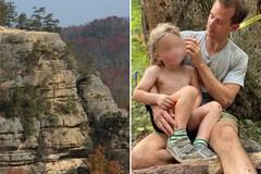 Cậu bé 4 tuổi sống sót kỳ diệu sau cú ngã xuống hẻm núi