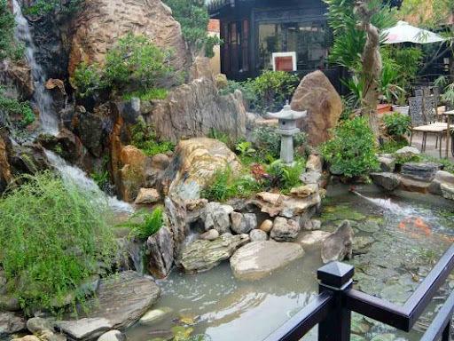 Phong thuỷ sân vườn kỵ trồng cây lớn che lấp nhà ở