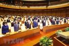 Quốc hội mặc niệm đồng bào, chiến sĩ hy sinh vì dịch bệnh Covid-19