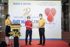 Nam A Bank, 10 năm duy trì hoạt động hiến máu cứu người