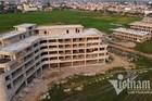 Cận cảnh dự án không phép xây cạnh trụ sở phường ở Vĩnh Phúc
