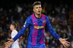 Barca thắng rửa mặt ở Champions League
