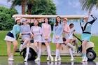 Dàn hoa hậu, MC VTV tổ chức sinh nhật trên sân golf