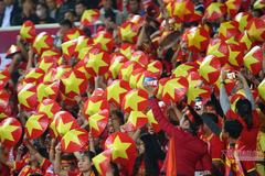Giá vé trận Việt Nam - Nhật Bản cao nhất là 1,2 triệu đồng