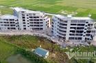 Dự án xây không phép cạnh trụ sở phường ở Vĩnh Phúc: Càng phạt càng phình to