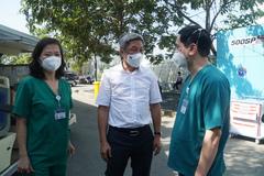 'Thiết bị tài trợ cho bệnh viện Hồi sức sẽ bàn giao cho TP.HCM  phục vụ người bệnh'