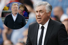 Ancelotti khen ngợi Koeman trước Siêu kinh điển