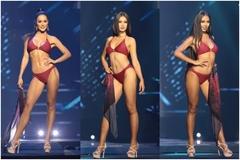 Thí sinh Hoa hậu Hoàn vũ Thái Lan 2021 rực lửa trình diễn bikini