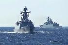 Tàu chiến Nga, Trung Quốc lần đầu tuần tra chung ở Thái Bình Dương