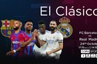 Trực tiếp Barca vs Real Madrid: Siêu kinh điển chênh lệch