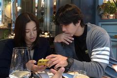 Tài tử Kwon Sang Woo sang Mỹ 'hẹn hò' vợ á hậu