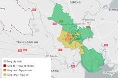 TP.HCM không còn quận huyện thuộc vùng đỏ