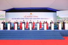 Quảng Ninh đồng loạt khởi công 4 công trình tổng vốn hơn 12 tỷ USD