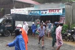 Sau nổ lớn, đất đá dội xuống, nhiều hộ dân ở Nam Trà My hốt hoảng bỏ chạy