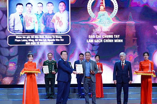 Báo VietNamNet đoạt giải A và C Giải báo chí quốc gia lần thứ XV