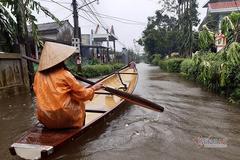 Áp thấp nhiệt đới khả năng thành bão gây mưa to ở miền Trung