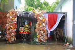 Cô dâu Quảng Nam nhớ lại cảnh chạy lụt ngày cưới