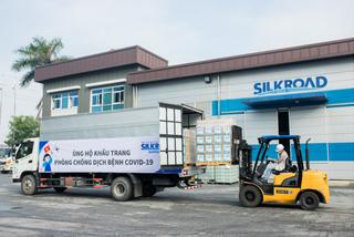 Tập đoàn SILKROAD ủng hộ 600.000 khẩu trang phòng chống dịch Covid-19