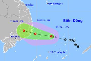 Áp thấp nhiệt đới cách Ninh Thuận 325km, lực lượng sẵn sàng ứng phó