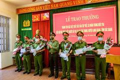Thưởng nóng 104 triệu cho tập thể, cá nhân truy bắt nghi phạm gây án ở Bắc Giang