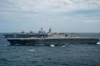 Uy lực tàu sân bay Nhật tập trận trên Biển Đông