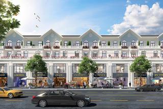 Sức hấp dẫn của nhà phố thương mại Khu đô thị Hoàng Sơn