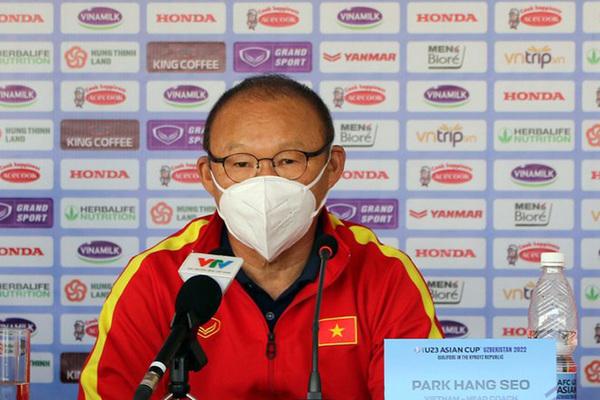 HLV Park Hang Seo: 'Đừng so sánh U23 Việt Nam bây giờ với lứa Thường Châu'