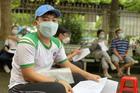 Đang tiêm vắc xin Covid-19 cho 1.200 học sinh huyện Củ Chi