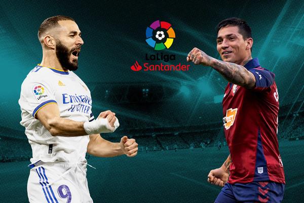 Real Madrid vs Osasuna: Vũ điệu tấn công
