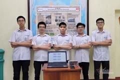 5 học sinh chuyên Lý giành giải Vàng sáng tạo khoa học kỹ thuật tại Mỹ